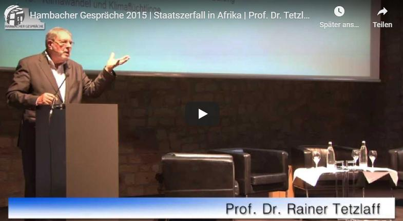 Staatszerfall in Afrika